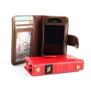 book smart phone holder & wallet
