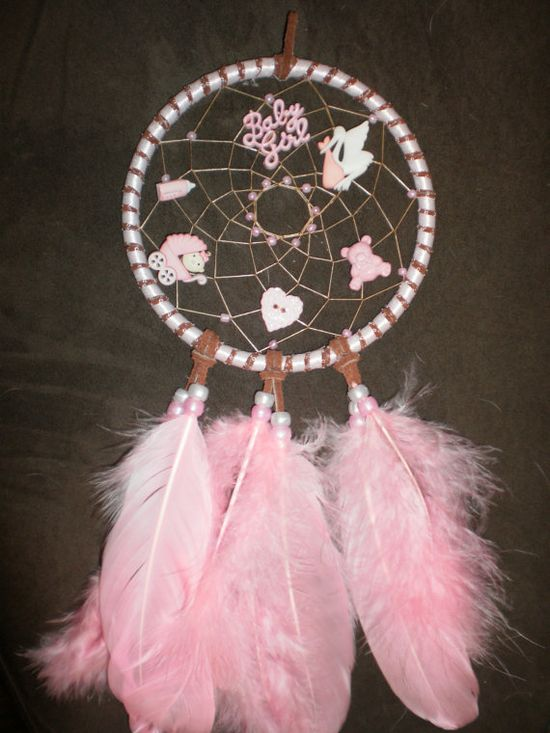 BABY Dream CATCHER -- especially appropriate to catch the dreams of the Pin of the Day Baby.