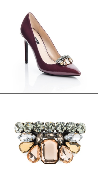 Shoe gems.  Jazz up plain shoes with these sparkling accessories.