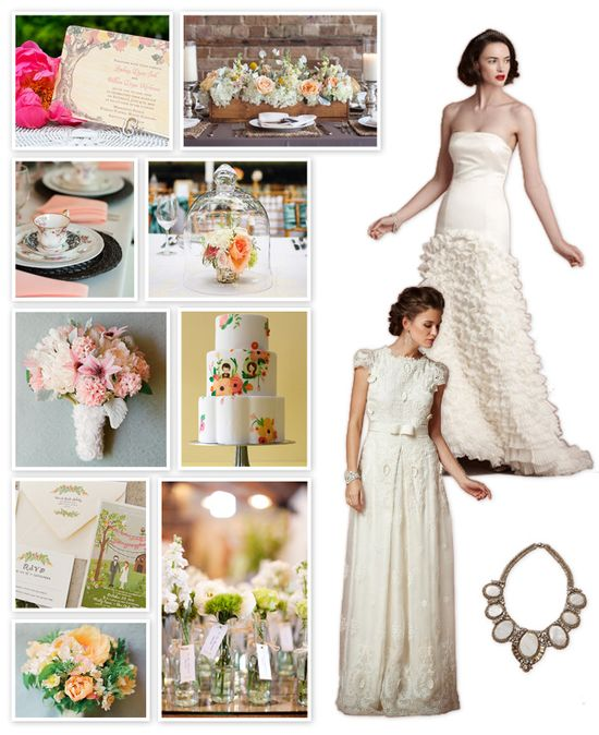 Anthropologie-Inspired Wedding Ideas!