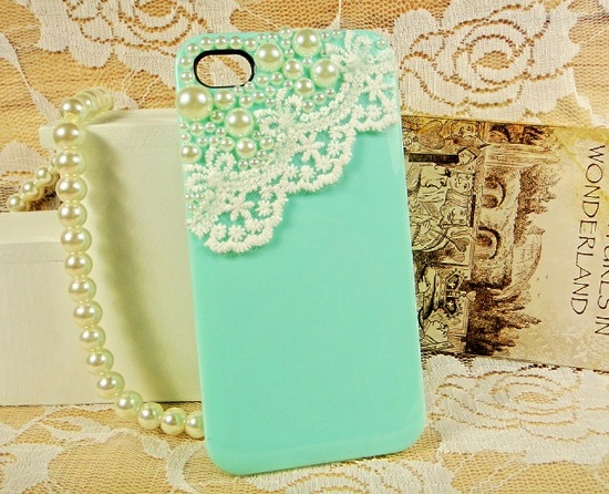 Lace iphone 4 case  iphone 4 protective cover