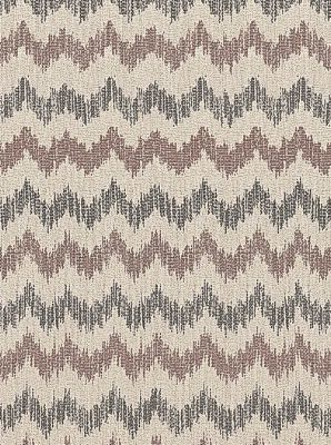 Schumacher Fabric Sierra Ikat-Raisin $124.25 per yard #interiors #decor #ikatfabrics #monochromaticdecor