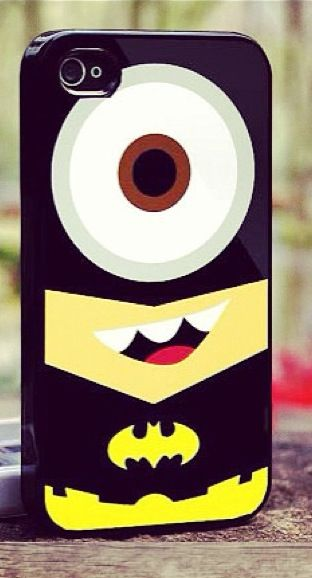 Minion iPhone cover!