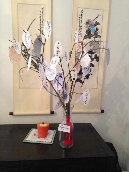 Thanksgiving Tree #couponsandkids #thanksgiving