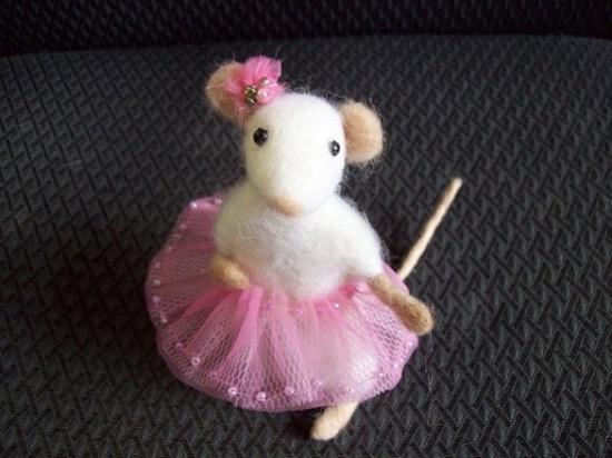 felt mouse cute cute cute