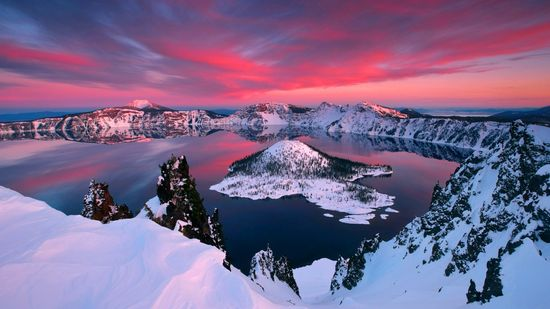 Crater Lake, OR.