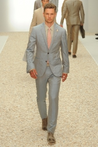 Spring 2012 runway collection available at Ermenegildo Zegna Bal Harbour.