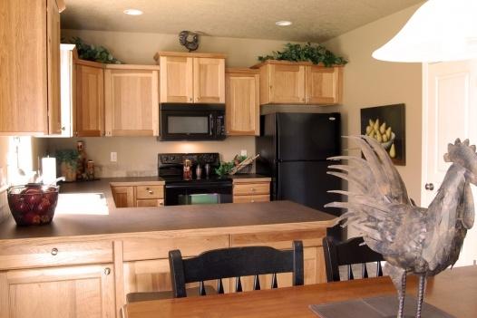 Future Kitchen. Birch Cabinets