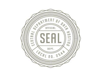 Seal Logo Stamp