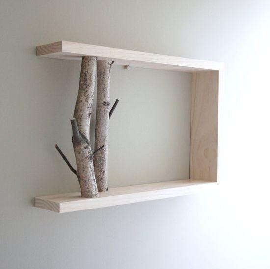 Birch branch shelf >> lovely