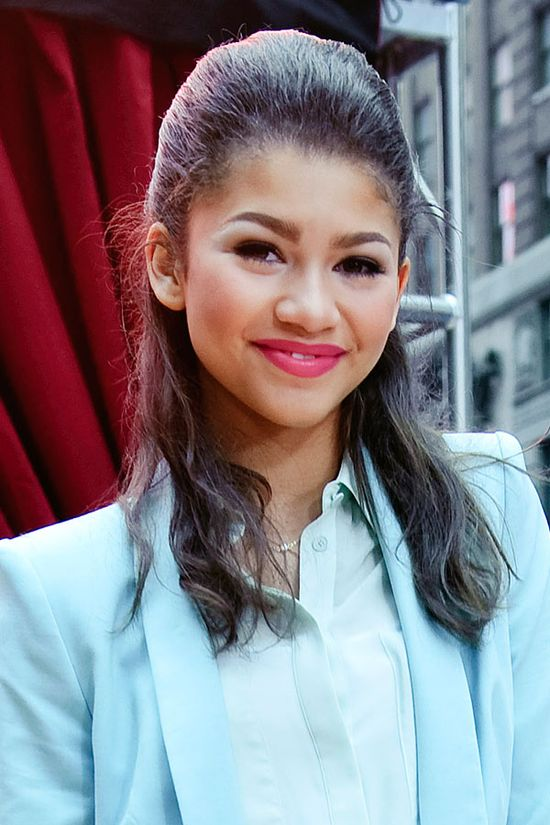 17 Celebrity-Approved Hairstyles for the First Day of School: Zendaya Coleman's Effortless Pony
