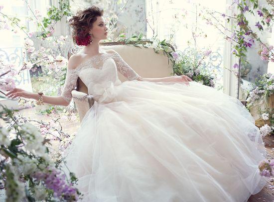 Bridal Gowns, Wedding Dresses by Tara Keely - Style tk2358