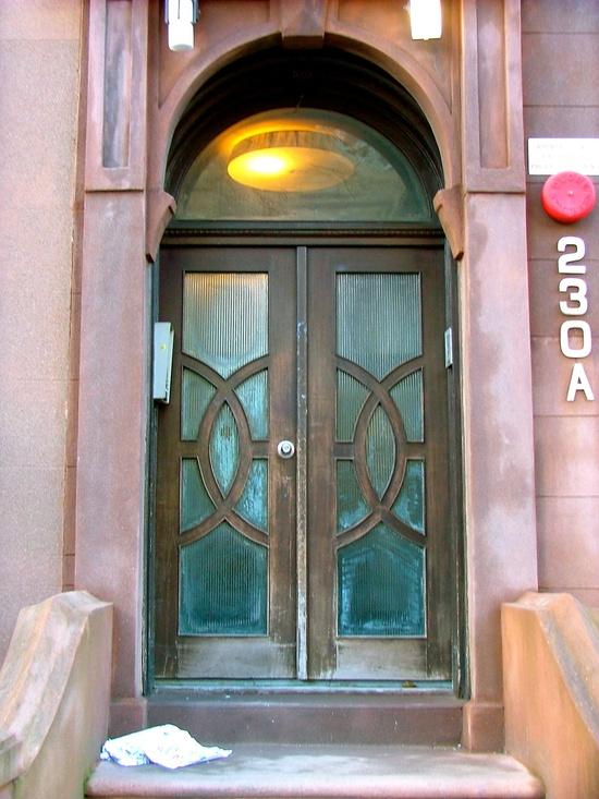 Brooklyn Art Deco Door.