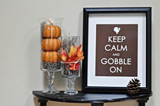 cute Thanksgiving decor