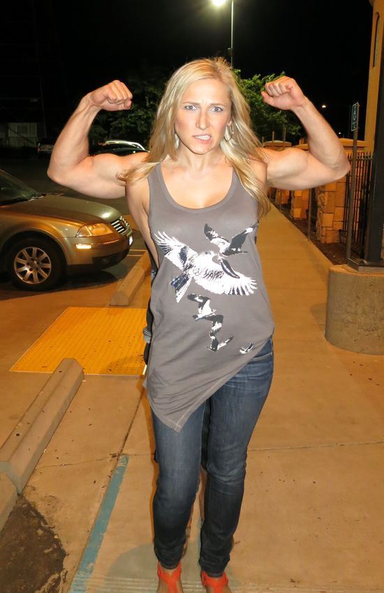 I work out ;)