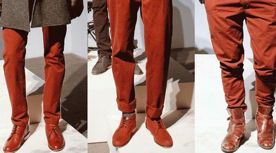 Fashion Colors for Men – #Autumn  #Winter #2013