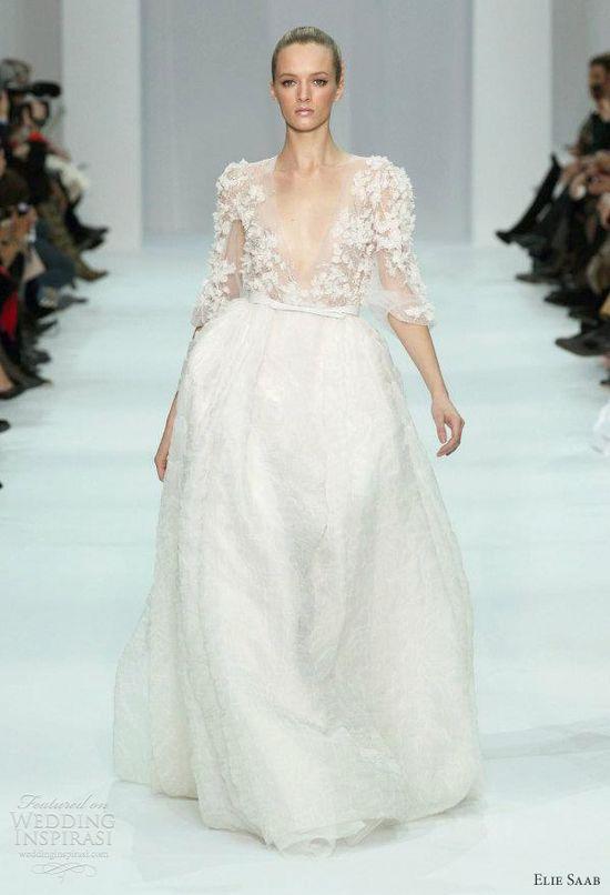 elie saab bridal 2012