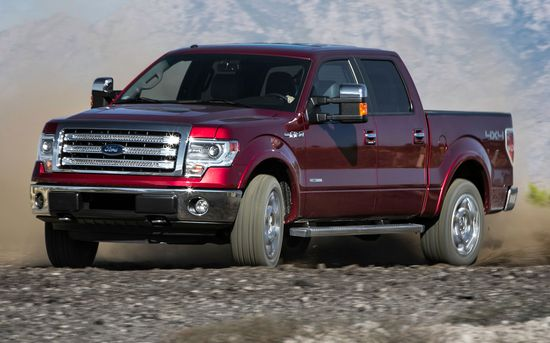 2013 Motor Trend Truck of the Year Contender: Ford F-150 EcoBoost SuperCrew - WOT on Motor Trend