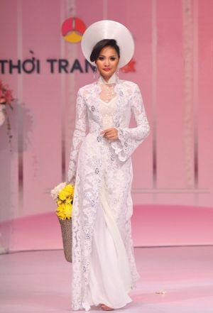 wedding ao dai: This could be the one as well!