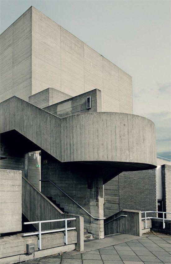 National Theatre, London #Arquitectura