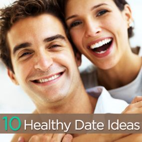man and woman 10 healthy date ideas