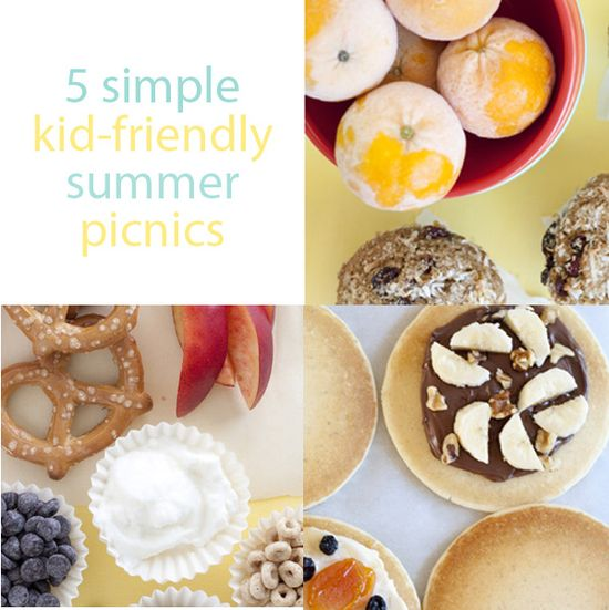 Great kid-friendly picnic foods.