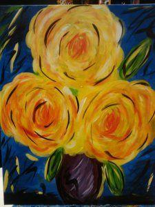 Sips n Strokes Painting