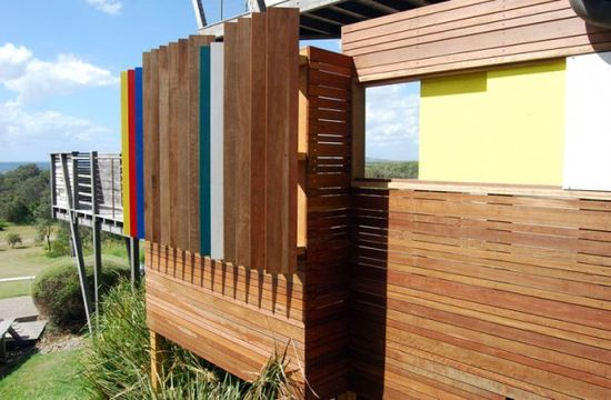 Slip Screen House, Broken Head, Australia  by: BUILT ENVIRONMENT PRACTICE, Chris Knapp