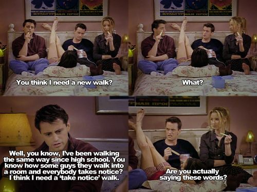#friends #monica #joey #chandler #phoebe just watched this episode!