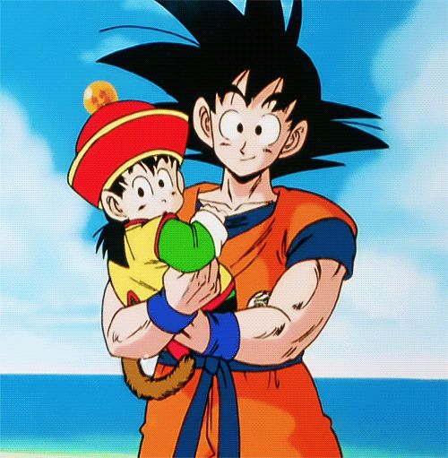 Son Goku  Son Gohan // byToei Animation(1989)