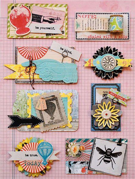 I love collage !! eye candie!