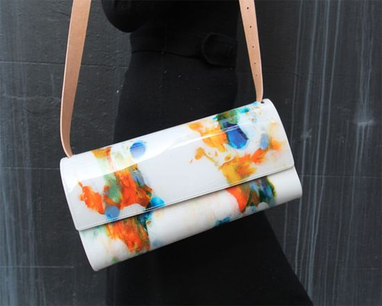 Paint Handbags // The Cool Hunter