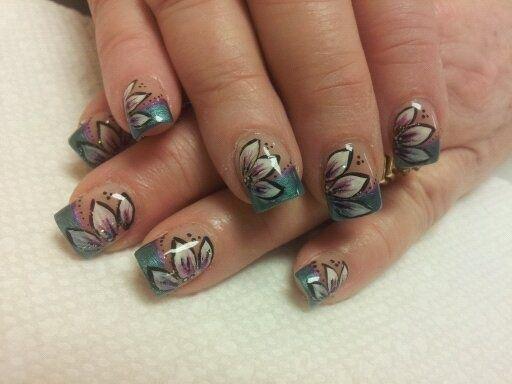 nails by Amy by Perfect10nails - Nail Art Gallery nailartgallery.na... by Nails Magazine www.nailsmag.com #nailart