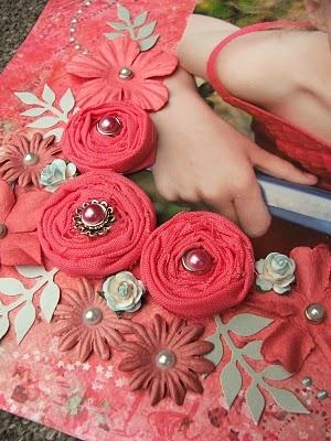 Handmade Fabric Flowers
