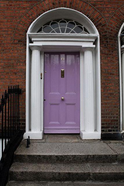lilac door.  ?