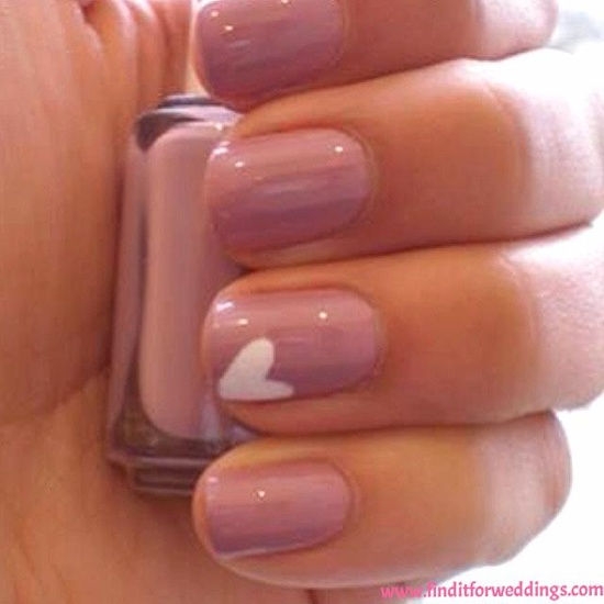 Heart these #Nails Nail art www.finditforwedd...