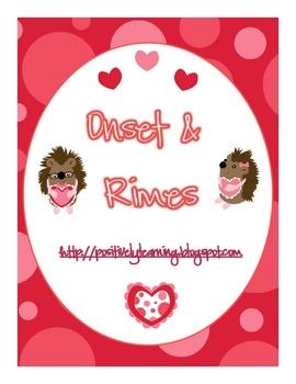 Free Onset & Rimes matching cards!