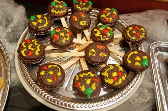 Halloween Dessert - Monster Popsicles