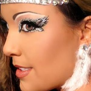 Angelic eye makeup