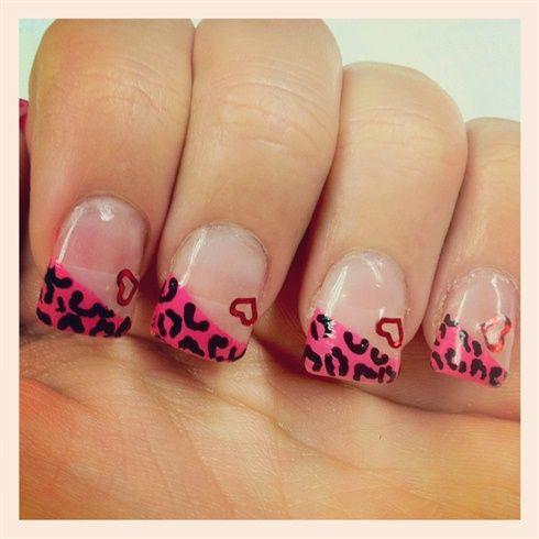 Valentines day nails by Shawna_h313 - Nail Art Gallery nailartgallery.na... by Nails Magazine www.nailsmag.com #nailart
