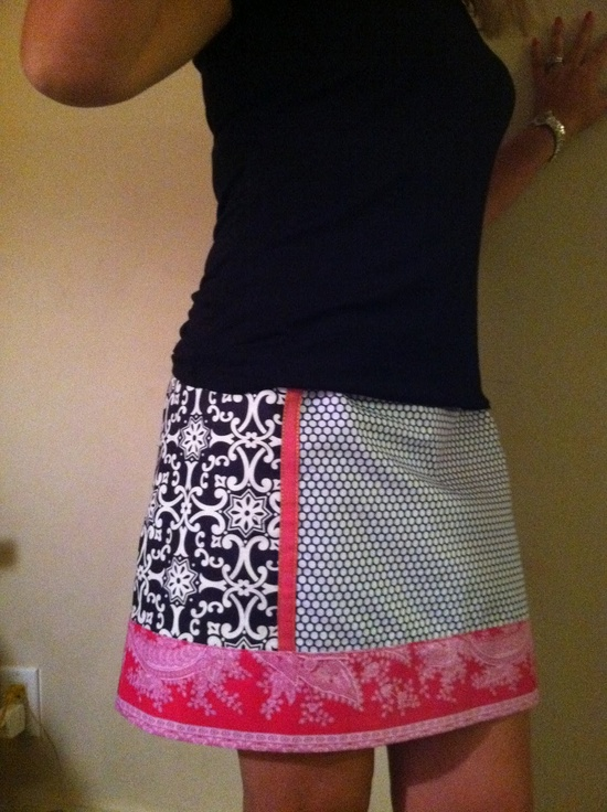 TabboDesign  diy skirt - would choose different patterns
