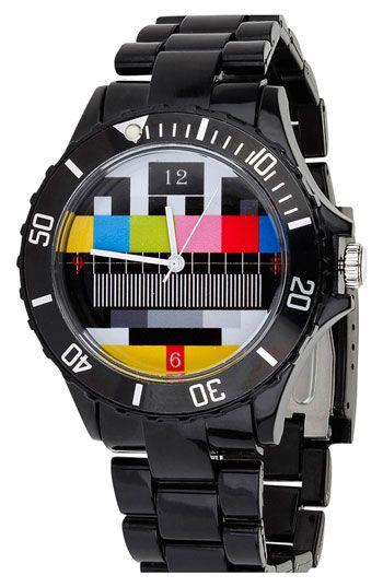 Topman Geo Print Watch