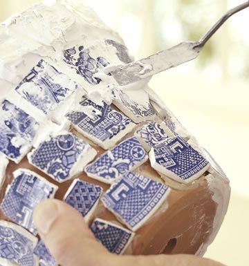 Mosaic DIY...looks fun to try!