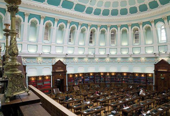 National Library of Ireland Reading Room (Dublin, Ireland)