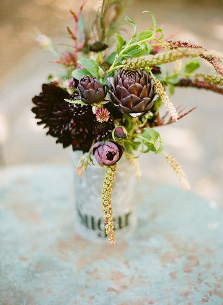 artichoke arrangement