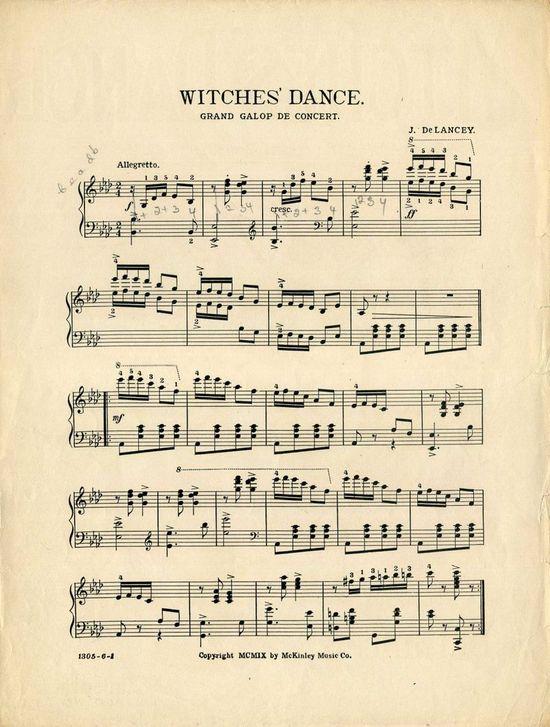Gorgeous Halloween Sheet Music