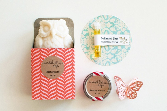 MOTHERS DAY Gift Set - Owl Soap, Lip Balm, Nourishing Serum. www.etsy.com/...