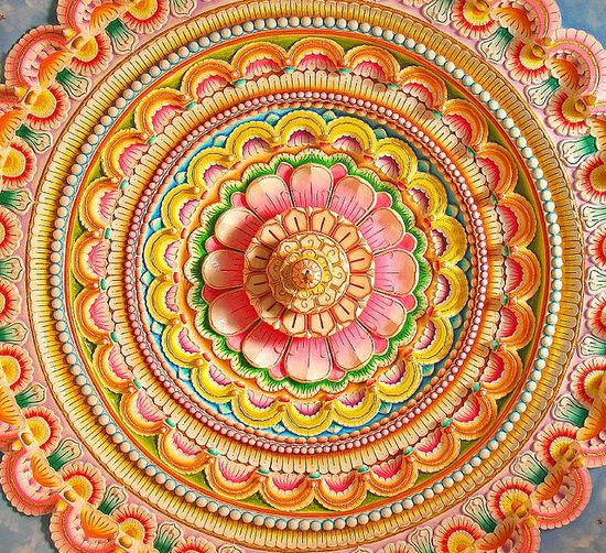 Indian ceiling