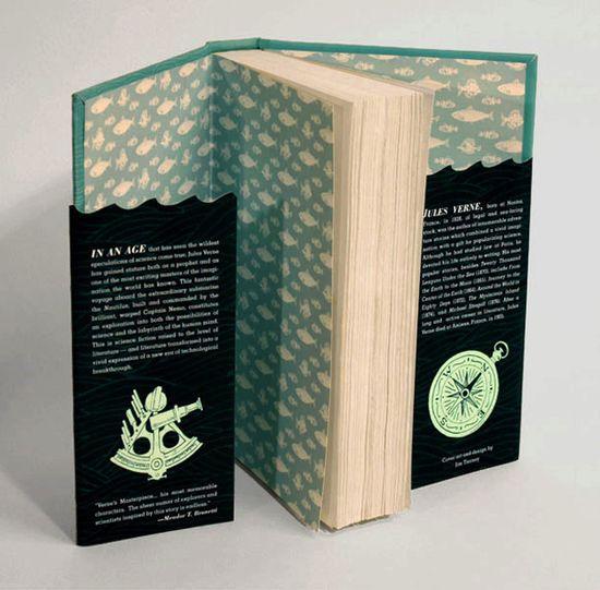 20,000 Leagues Book Design