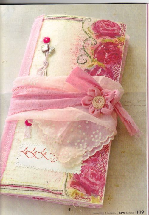 fabric journal - beautiful